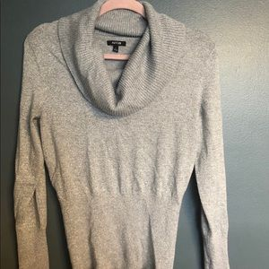Apt 9 Silver sparkly cowl neck sweater